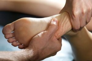 νευρορεφλεξολογία στο πόδι
