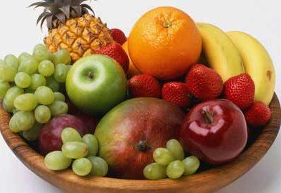 διατροφή και φρούτα