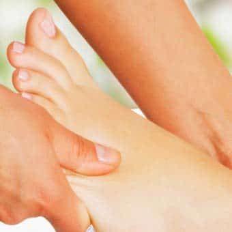 ρεφλεξολογία, θεραπεία πόνου